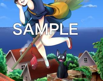 Kiki's Delivery Service (8.5 x 11)