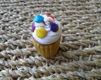 """Pendant """"smarties Cupcake"""""""