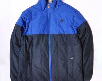 Vintage NIKE Outdoor Jacket // NIKE Windbreaker // Colorblock Coat // Swoosh Embroidery Logo // Classic Retro 90s // Streetwear Jacket