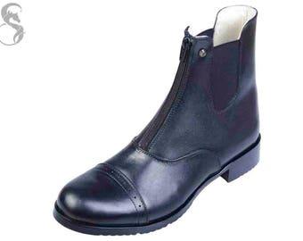 Black Jodhpur Boots from Skidar