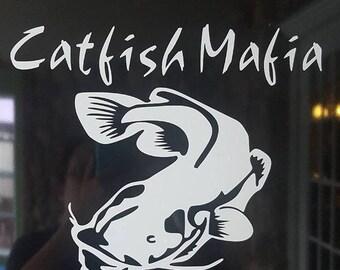 Small Catfish Mafia decal