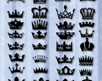 Crown SVG, PNG, DXF, Eps Cutting Files, Princess Svg, Crown Silhouette, Crown Clipart, Princess Crown Svg, Queen Crown Svg, Crown Vector