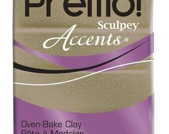 Sculpey Premo Accents 57 g - Yellow Gold Glitter - Ref POPE5147 - price until stocks last!