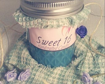 Blueberry Jam Scented Soy Candle