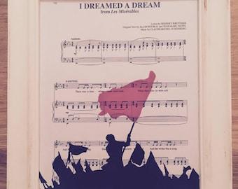 Les Miserables Print - I Dreamed a Dream