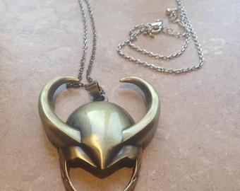 Loki God of Mischief pendant
