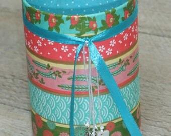 Pencil holder pastel Japanese paper (number 86)