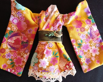 Short yukata for pullip or barbie