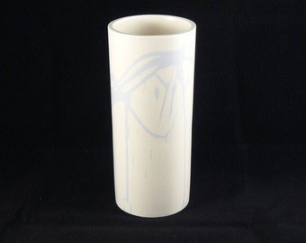 Original Ceramic Handmade Vase- Modern, Contemporary and Decorative Vase.