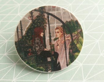 Pins The Mortal Instruments - Clary and Jace