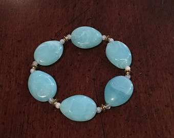 Dysautonomia Awareness Pebble Bracelet