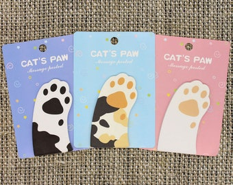 Cat Paw Notepad