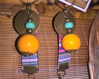 Earrings ethnic Zanzibar