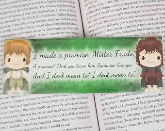 I Made A Promise - Geeky Bookmark