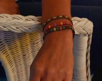 Bracelet Miyuki weaving