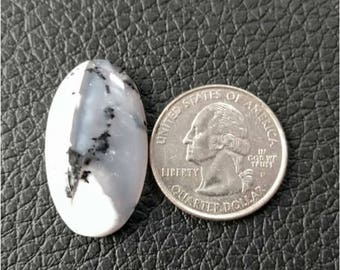 30.75 x 17.30 mm,Ovel Shape Dendritic Opal Cobochon/ AAA Dendritic Agate Cabochon /Merlinite Cabochon/ wire wrap stone/Super Shiny/ Cabochon