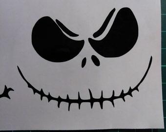 Jack Skellington Smile Decal