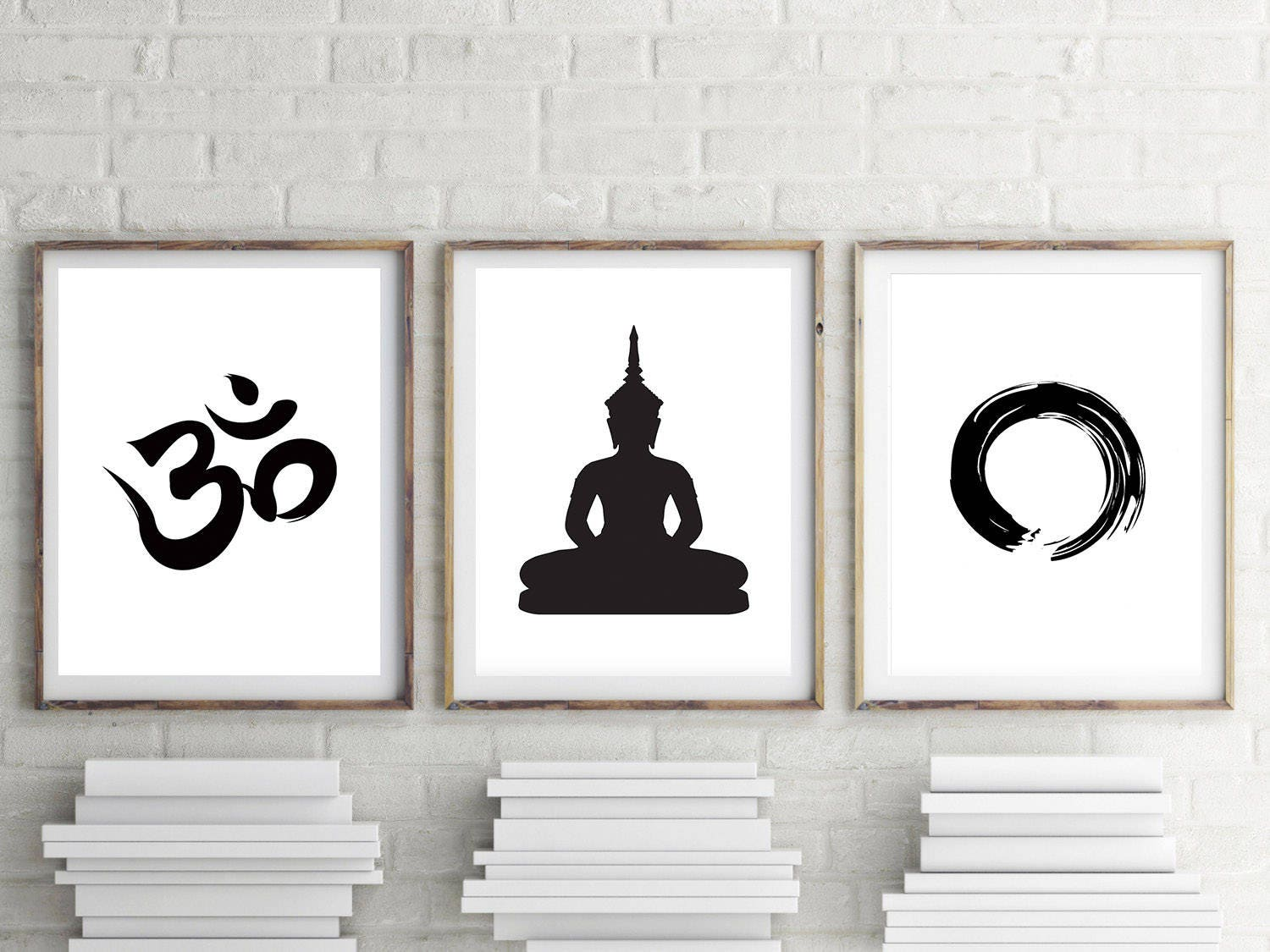 Set Of 3 Prints/ Meditation / Home Decor/ Poster/ Wall Decor/ Wall