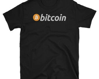 Bitcoin Cryptocurrency Official Logo T-Shirt
