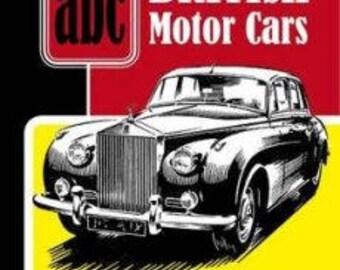abc British Motor Cars 1950s by Ian AllanHardback, 240 Pages Price: