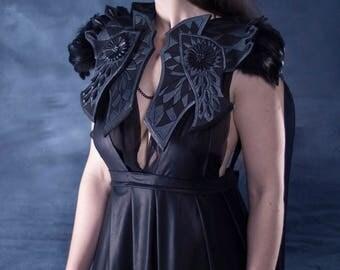 Crow Costume Shoulder pieces + mask
