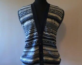 Vintage Sweater Vest (1980s)
