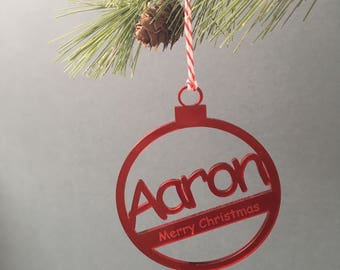 Personalised Tree Decoration/Bauble