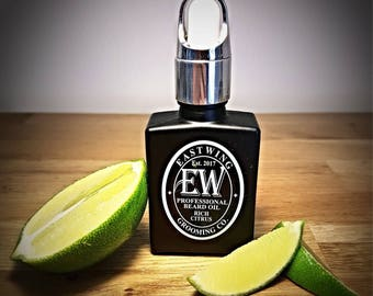Professional Beard Oil in Rich Citrus aroma. Free UK Shipping & free gift bag