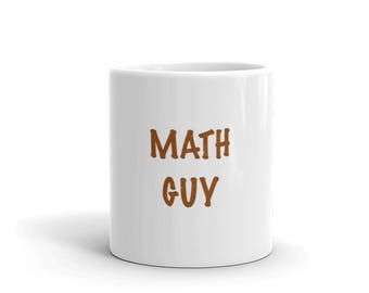 Math Guy Mug