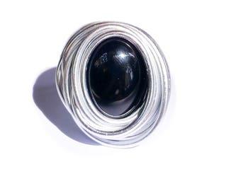 black ring, ring black, big ring black