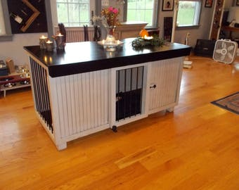 Dog Crate Furniture Etsy