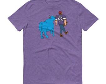Paul Bunyan/Babe Blue Ox Vikings Fan - Skol Purple Reign Men's/Unisex Short-Sleeve T-Shirt