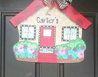 House Door Sign