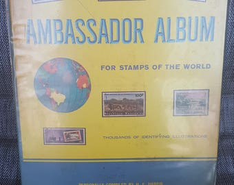 2 Vintage Stamp Collections (THOUSANDS of stamps): Postage Stamps of the World