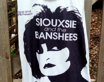 siouxsie and the banshees sleeveless shirt tank top