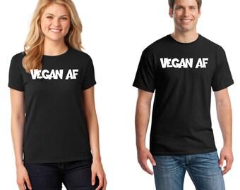 Vegan AF T-Shirt, Vegan AF Shirt, Vegan AF, Vegan Shirt, T-Shirt, Cap Daddy