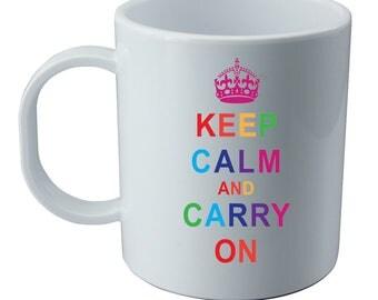 mug keep calm and carry on