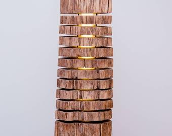 Lampe en bois | Etsy