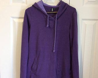 Roots Purple Pullover