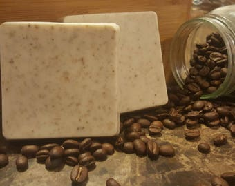 Coffee and Oat Goats Milk Soap