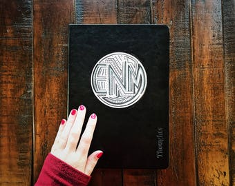 The Monogrammed Notebook