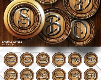 Bronze Letters For Sale Bottle Cap Letters  Etsy