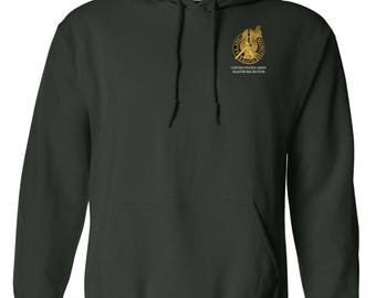 US Army Master Recruiter Embroidered Hooded Sweatshirt-7751