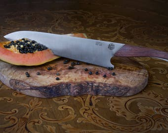 Crucial G21 Chef Knife  (full tang Sandvik 13C26 steel with rosewood handle)