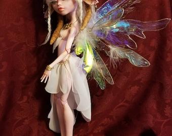 "OOAK 18"" Monster High Repaint Eliana Satyr Fairy Doll"