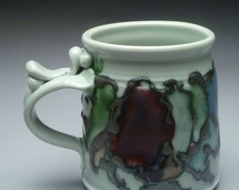 Celadon Grape Mug