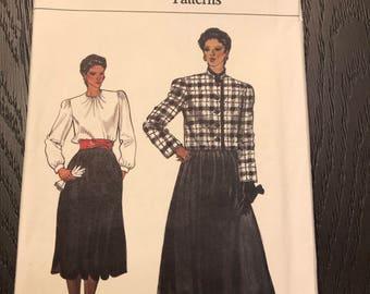 Vogue Sewing Pattern 8525, UNCUT, FF, Size 8-18