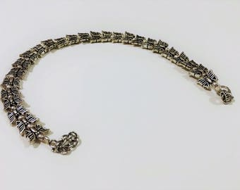 Butterfly anklet-animal anklet-foot bracelet-summer jewelry