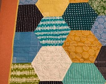 Bright Blooms Handmade Quilt