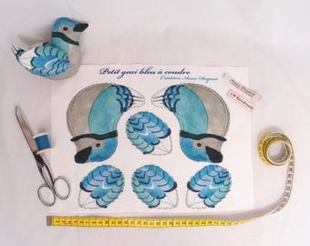 The blue jay : Ready to sew kit